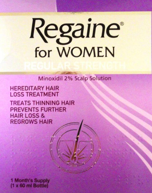 Regaine for Women hair loss treatment