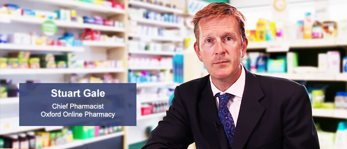 Chief Pharmacist Stuart Gale